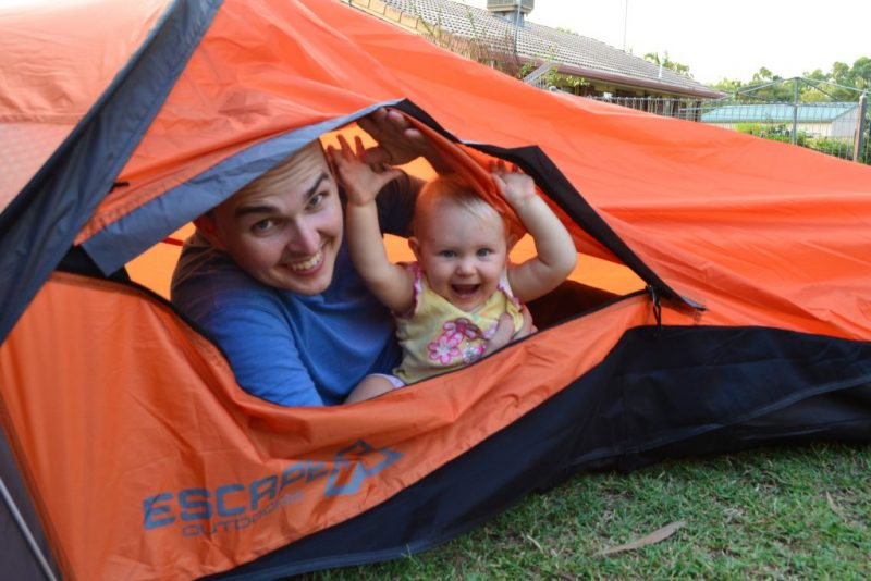 Camping avec bébé : les précautions à prendre